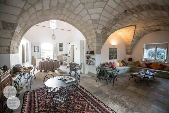 Palazzo Guglielmo Breakfast room