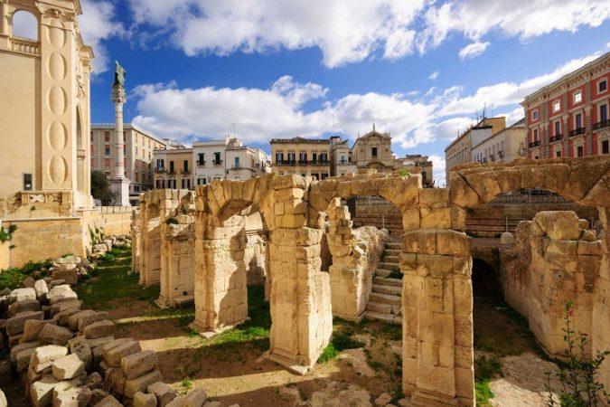 Lecces Anfiteatro Romano.